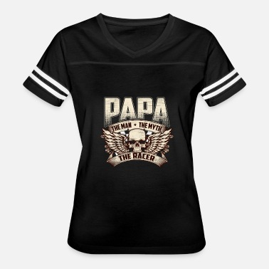 Boxcar Racer Racer - Papa, the man, the myth, the racer - Women's Vintage Sport T-Shirt
