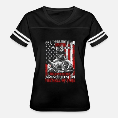Patriotic Aprons Patriot - Brothers await him in the hall of fame - Women's Vintage Sport T-Shirt