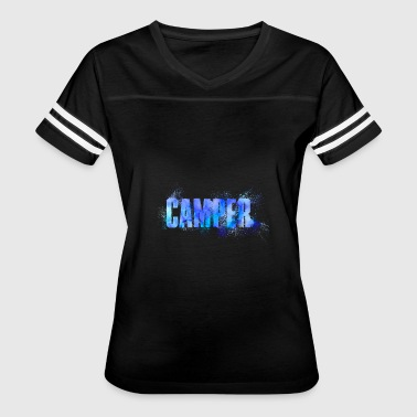 Outdoor Activities Camper Outdoor Activity Person - Women's Vintage Sport T-Shirt