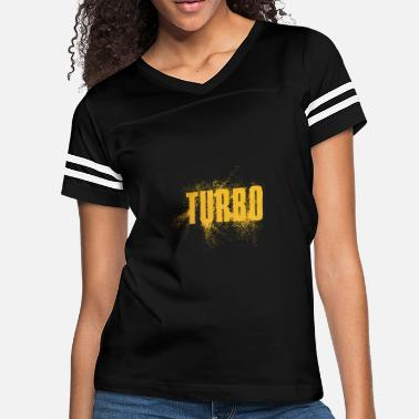 Speed Art Turbo Speed Word Art - Women's Vintage Sport T-Shirt
