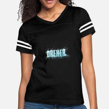 Dreher Dreher Name Word - Women's Vintage Sport T-Shirt