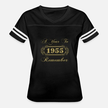 1955 Year 1955 A Year To Remember - Women's Vintage Sport T-Shirt