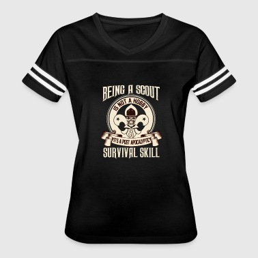 Scout - It's a post apocalyptic survival skill - Women's Vintage Sport T-Shirt