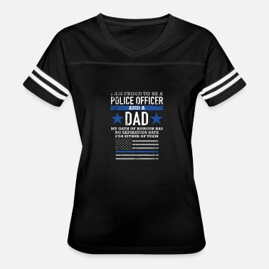 Police Flag Police Police Proud to be a police officer a - Women's Vintage Sport T-Shirt