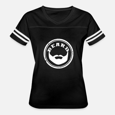 Beard Mustache Jokes Mustache - Awesome t-shirt for bearded man - Women's Vintage Sport T-Shirt