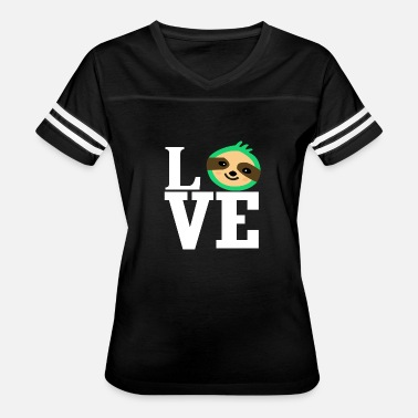 Animal Love Love love sloth animal love animal-loving animal - Women's Vintage Sport T-Shirt