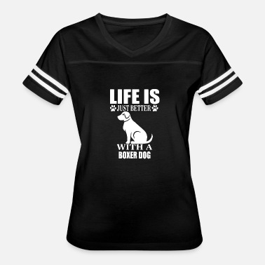 Animal Protection Sports Boxer dog protection dog rescue dog dog sport - Women's Vintage Sport T-Shirt