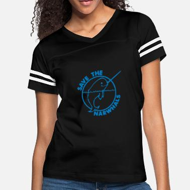 Save The Narwhals Save The Narwhales - Women's Vintage Sport T-Shirt