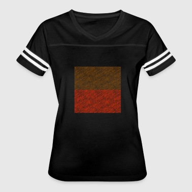 oblong Brown-red - Women's Vintage Sport T-Shirt