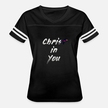Spiritual Words Christ in You - Women's Vintage Sport T-Shirt