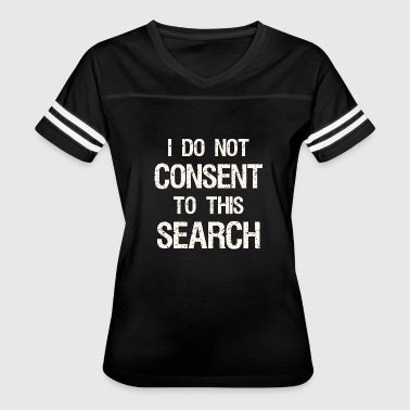 Undertale Frisk Frisk undertale - I Do Not Consent To This Searc - Women's Vintage Sport T-Shirt