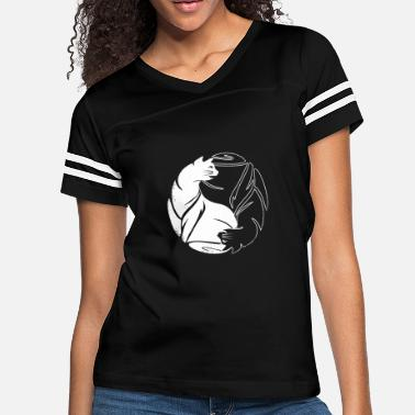 Cat Yin Yang Yin Yang Cat - Yin Yang Cat - Women's Vintage Sport T-Shirt