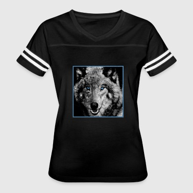 Majestic Wolf wolf eyes | wolf animal eyes gift giftidea - Women's Vintage Sport T-Shirt