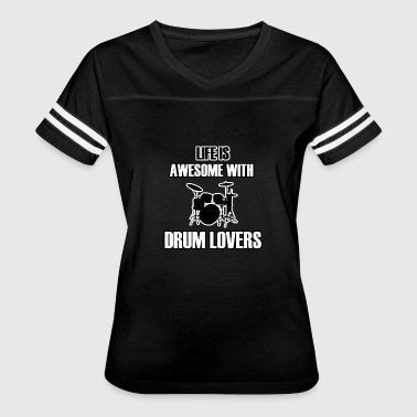 Drums Designs DRUM design - Women's Vintage Sport T-Shirt