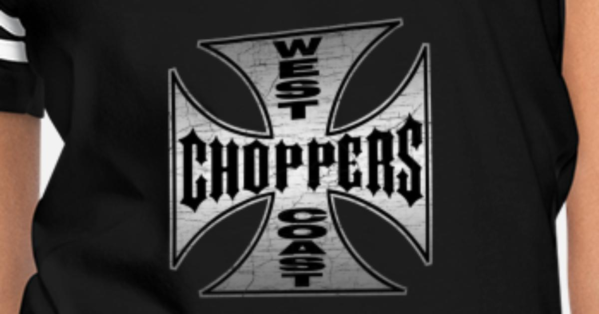 e591ab3f west coast chopper Black iron cross Women's Vintage Sport T-Shirt |  Spreadshirt