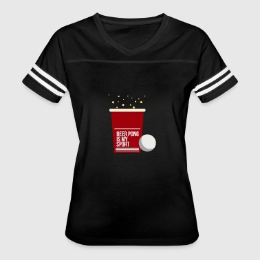 Drinking game drinking beer - Women's Vintage Sport T-Shirt