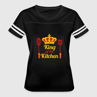 crown agitator turner king of the kitchen king emb - Women's Vintage Sport T-Shirt