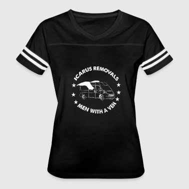 Removable Icarus Removals - Icarus Removals - Women's Vintage Sport T-Shirt