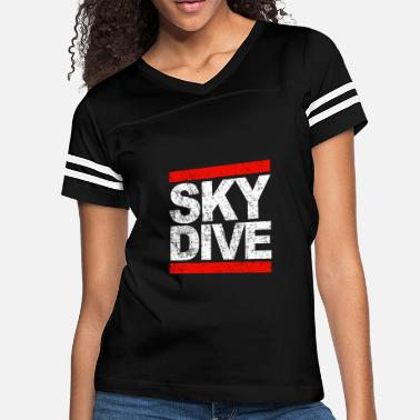 Skydiving Baby Skydiving - skydive - Women's Vintage Sport T-Shirt