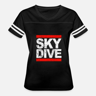 Skydive Freefly Skydiving - skydive - Women's Vintage Sport T-Shirt