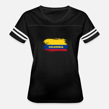 Colombia South America Colombia Flag / Gift Colombia South America - Women's Vintage Sport T-Shirt