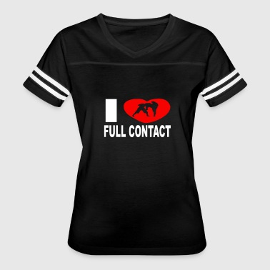Full Contact I Love Full Contact - Women's Vintage Sport T-Shirt