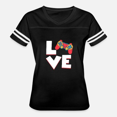 Love Games Gaming love - Women's Vintage Sport T-Shirt