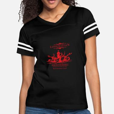 Hanse Rlyeh Whiskey Red Label - Women's Vintage Sport T-Shirt