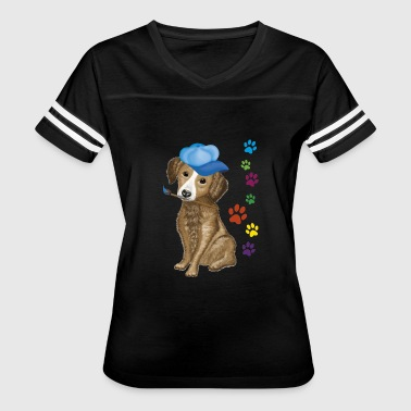 doggy - Women's Vintage Sport T-Shirt
