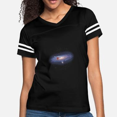 Milky Way Milky Way Galaxy - You Are Here - Women's Vintage Sport T-Shirt