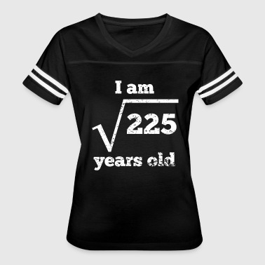 15th Birthday Gift 15th Birthday Square Root - Women's Vintage Sport T-Shirt