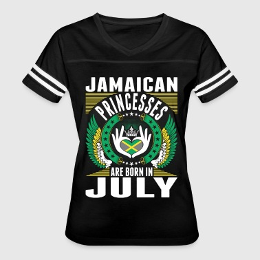 Jamaican Princesses Are Born In July - Women's Vintage Sport T-Shirt