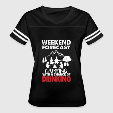 camping and drinking - Women's Vintage Sport T-Shirt