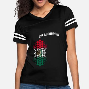 7f2816aa Air Accordion champions - Flag of Mexico - Women's Vintage Sport T.  Women's Vintage Sport T-Shirt