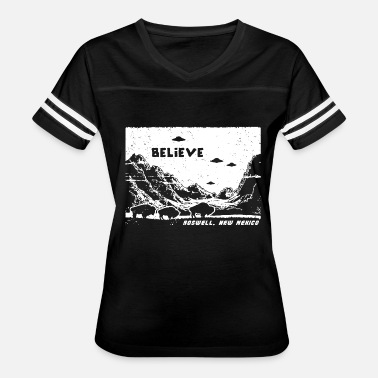 Uf Funny Roswell, New Mexico - Believe in UFO - Women's Vintage Sport T-Shirt