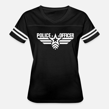 Police Or Policeman Police Officer Policeman - Women's Vintage Sport T-Shirt