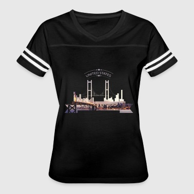 San Francisco - Women's Vintage Sport T-Shirt