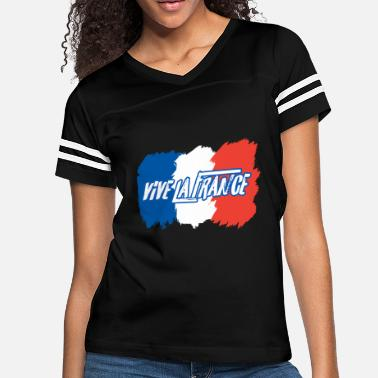 Vive La France Vive la France - Women's Vintage Sport T-Shirt