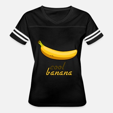 Banana Design Cool banana one design - Women's Vintage Sport T-Shirt