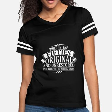 Female Rockabilly Fifties - built in the fifties original - Women's Vintage Sport T-Shirt