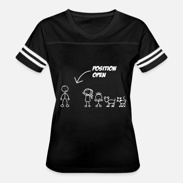 Open Marriage Single Dad - Position Open Single Dad - Women's Vintage Sport T-Shirt