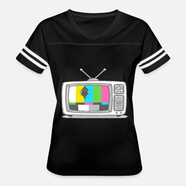 Watch Tv Watching TV - Women's Vintage Sport T-Shirt