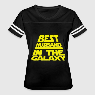 Cool Husband Husband - mens husband best husband in the galax - Women's Vintage Sport T-Shirt