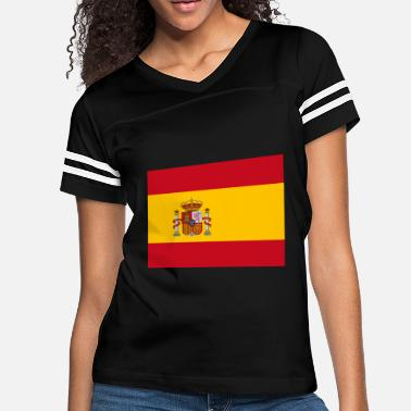 Flags Spain Spain Flag - Women's Vintage Sport T-Shirt