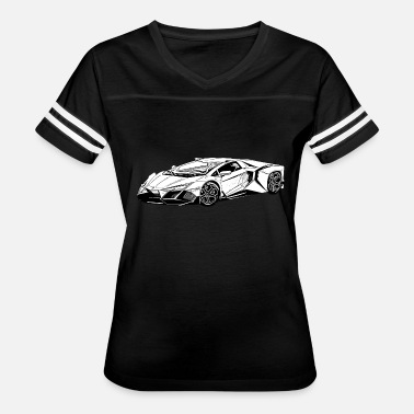 Rally Racing nice supercar tees - Women's Vintage Sport T-Shirt