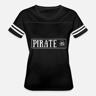 Eye Patch pirate with skull and eye patch - Women's Vintage Sport T-Shirt