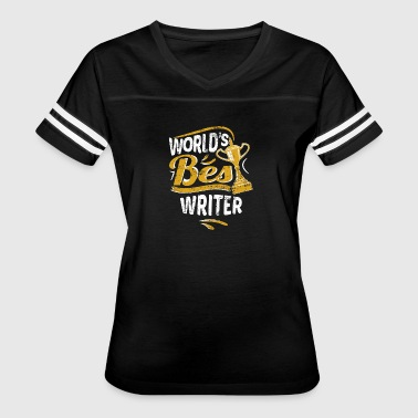 Best Writer In The World World's Best Writer - Women's Vintage Sport T-Shirt
