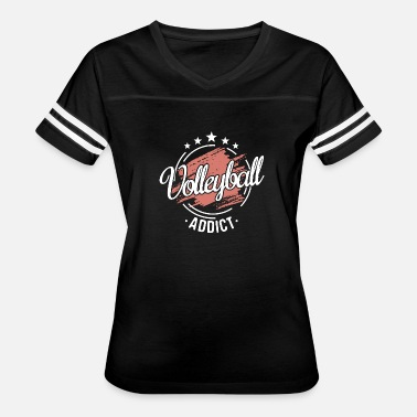 Cool Volleyball Design Cool Funny Humor Volleyball Team Quote Shirt Gift - Women's Vintage Sport T-Shirt