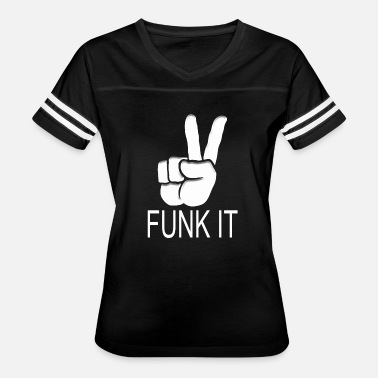 Ganja Rock Music peace it funk - Women's Vintage Sport T-Shirt