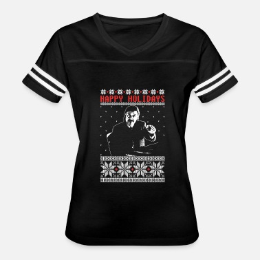 Billie Holiday Holidays - Happy holidays christmas sweater - Women's Vintage Sport T-Shirt